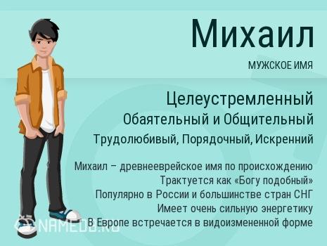 Имя Михаил