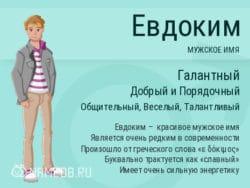 Имя Евдоким
