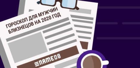 Гороскоп для мужчин Близнецов на 2020 год