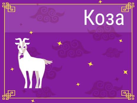 ЗКоза в Китайском гороскопе