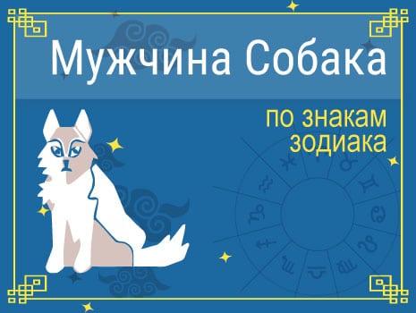 ЗМужчины Собаки по знакам Зодиака
