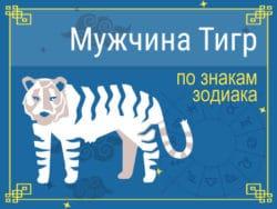 Мужчины Тигры знакам Зодиака