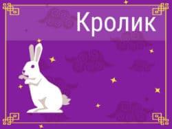 Кролик в Китайском гороскопе