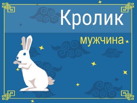 ЗМужчина Кролик (Кот): черты характера, карьера, любовь и семья