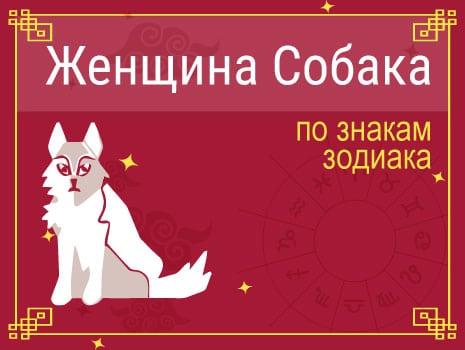 ЗЖенщина-Собака по знакам Зодиака