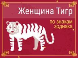 Женщина-Тигр по знакам Зодиака
